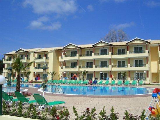 Olga Aparthotel, Sidari, Corfu, Grecia