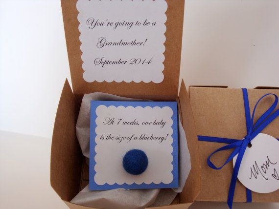 Pregnancy reveal/ announcement, baby announcement, how big is my baby So cute!  The perfect way to announcement your pregnancy and the role your loved one will play in the baby's life.  $10/ea.