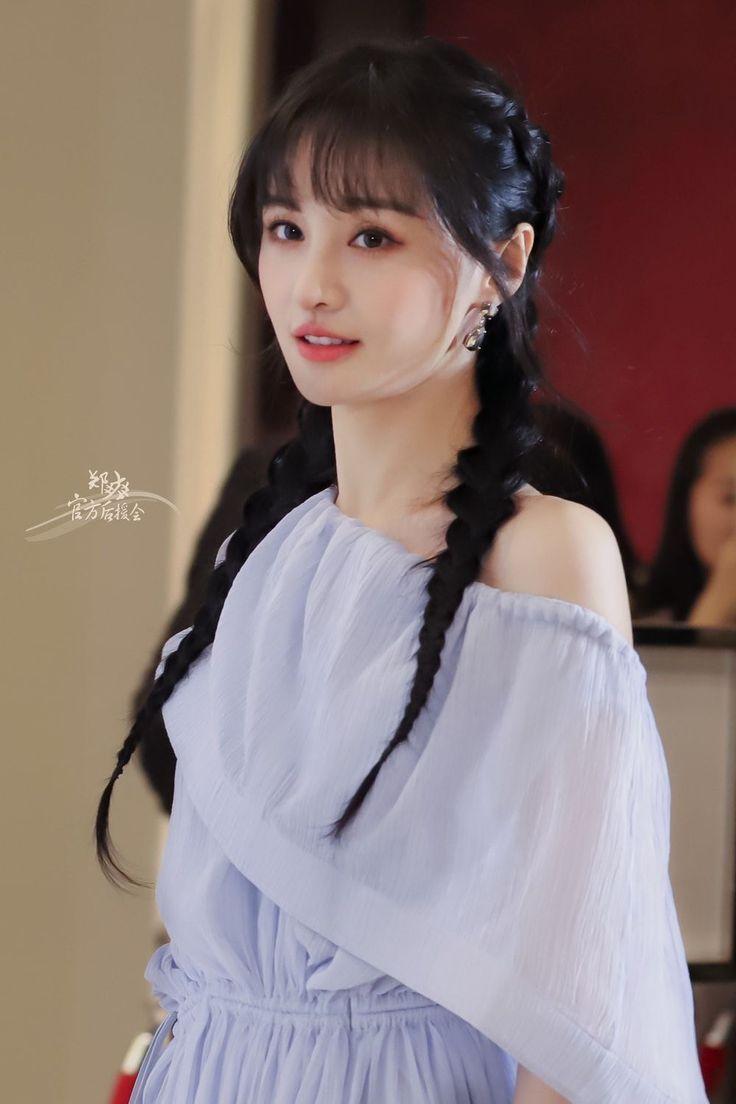 Zheng Shuang Cute Zheng Shuang Nữ Thần Diễn Vien Con Gai
