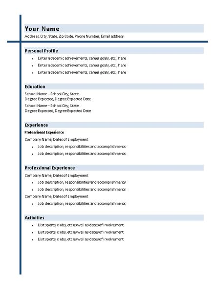 The 25+ best Latex resume template ideas on Pinterest Latex - unique resume formats