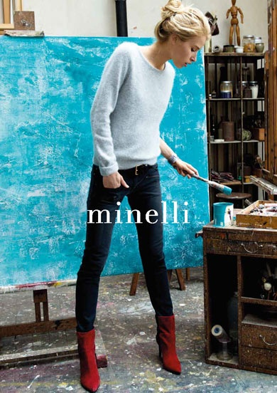 Minelli - Making of et Campagne Automne Hiver 2012/13