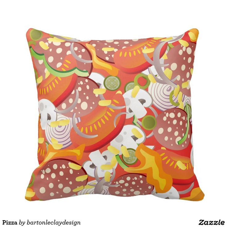Pizza Throw Pillows