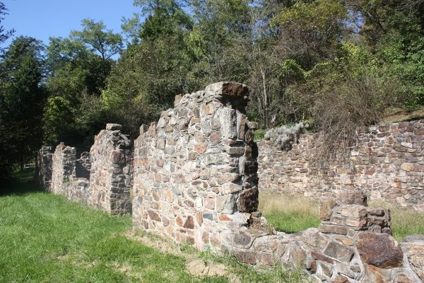 The Ruins of first military hospital in Northern America ...