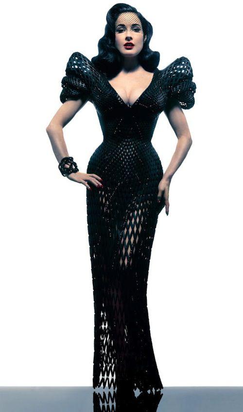Dita Von Teese - 3D printed dress