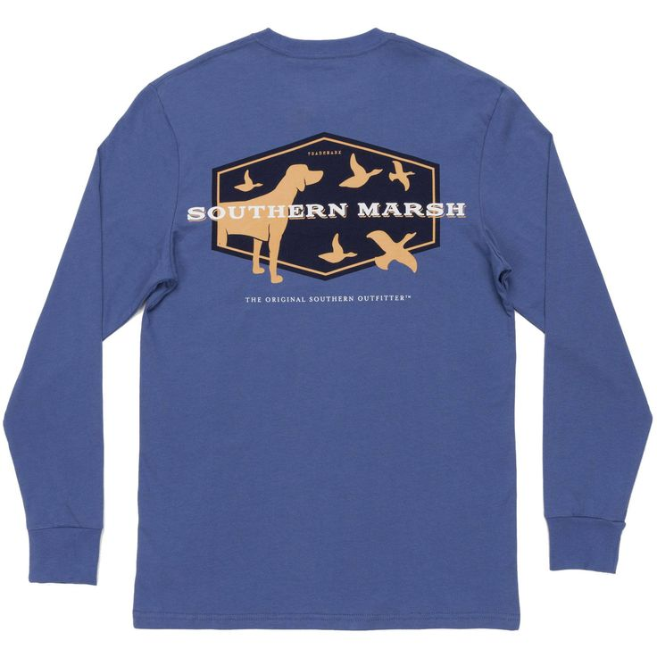 Southern Marsh Men's Hunting Dog L/S Tee