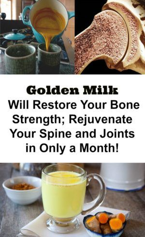 Golden milk is a turmeric potion which has incredible benefits for your health. It can preserve your youth, improve your digestion, clean your liver and remove toxins from your body. The drink is also great against arthritis as it relieves inflammation and improves joint mobility. It has been a part of Russian folk medicine for …