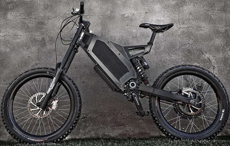 Bicicleta elétrica de alta performance atinge 35 km/h
