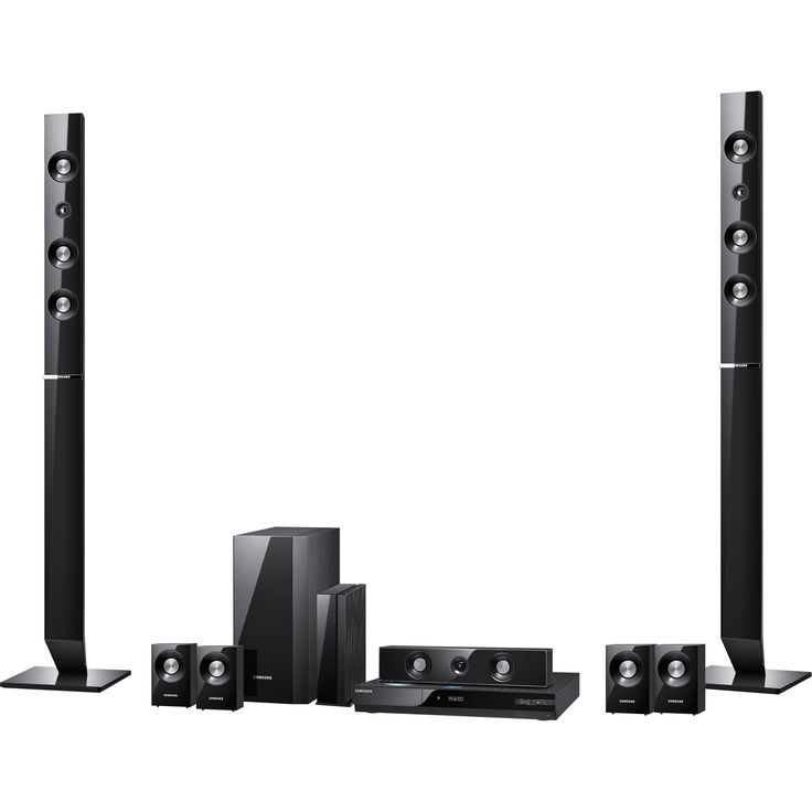 Samsung home theater speakers model ht-c550