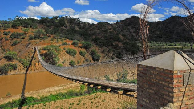 Chari Chari Bridge, Bolivia Footbridge, winner of ASCE's 2013 Innovation in Sustainability Award