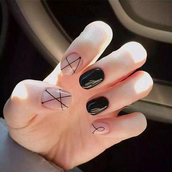 Идеи Маникюра На Очень Короткие Ногти