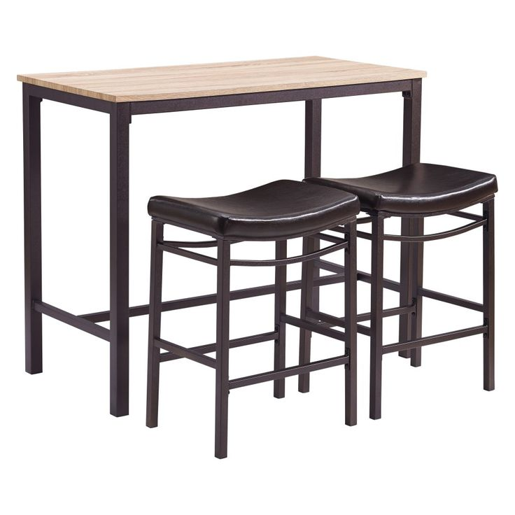 linon home betty 3 piece pub table set pub tables u0026 sets at hayneedle - Bistro Table Sets