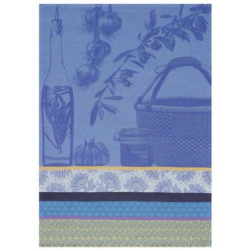 Le Jacquard Francais Saveurs de Provence Lavender Blue Tea Towel