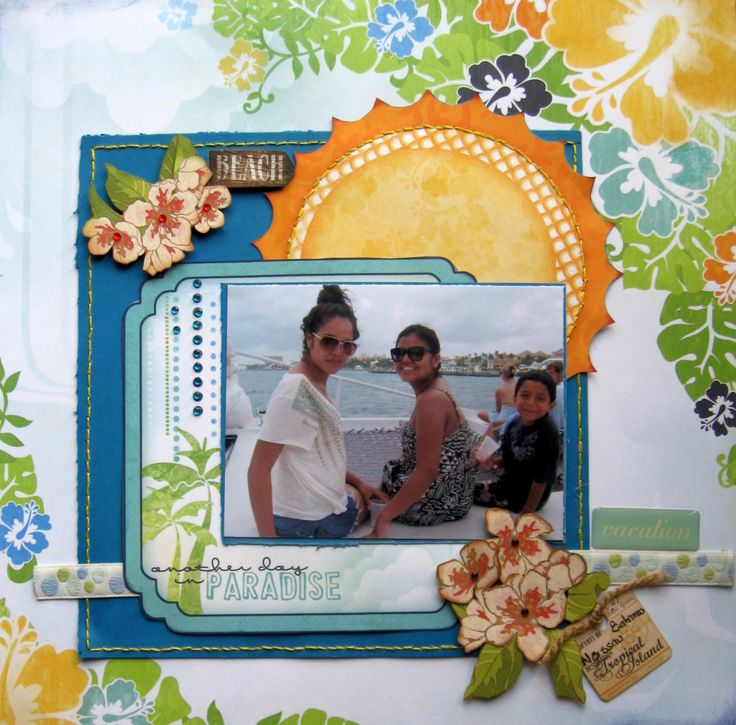 118 Best Images About Scrapbooking Beach Tropical Nautical