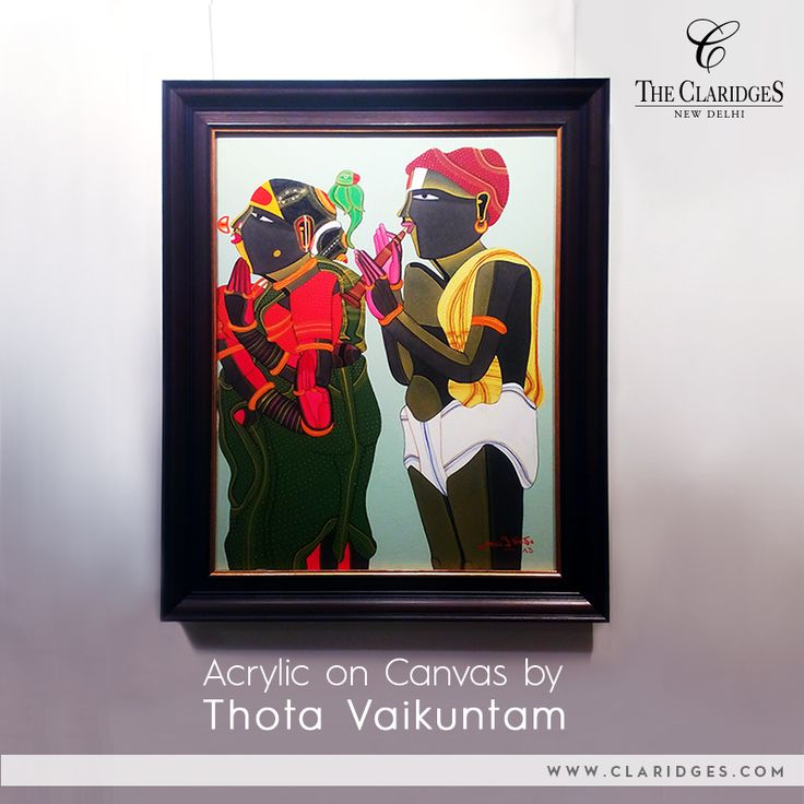 National awardee Thota Vaikuntam's controlled lines and fine strokes adds a sense of strength to his work! Take a look at some of his inspired work at The Crayon Art Gallery!