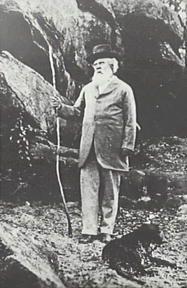 Springwood Historians: Politicians - Sir Henry Parkes outside his Faulconbridge home