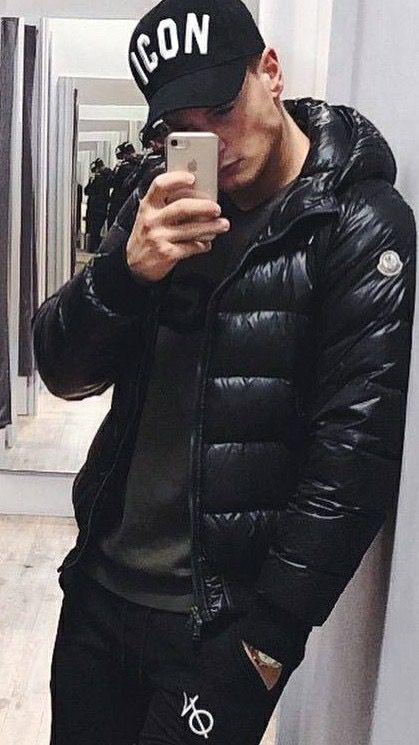 moncler jacket daniel black