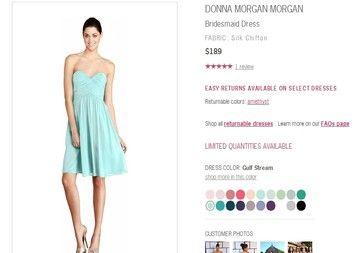 Gulf Stream Donna Morgan Bridesmaid Dress Dress $60