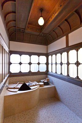 Bath, old Japanese style.