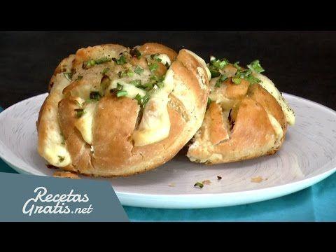 Pan con queso al horno - ¡En menos de 15 minutos! - YouTube