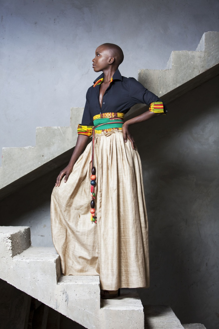 Anya Ayoung-Chee, winner of Project Runway Season 9 - hailing from Trinidad - collection