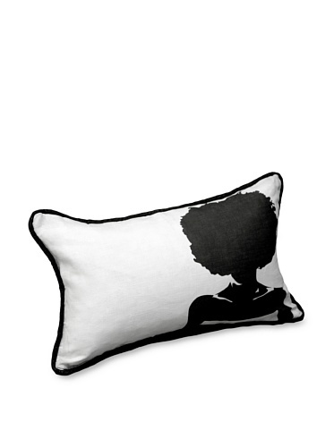 62% OFF AphroChic Silhouette Pillow (Dove)