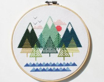 Cross Stitch Patterns & Tutorials – Etsy