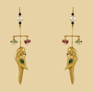 Parrot Talk Earrings