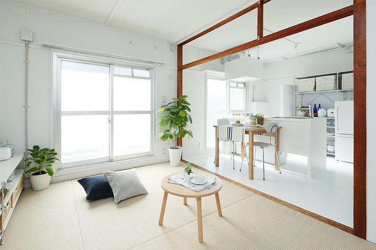 広がる「麻畳」と「組合せキッチン」の使い方事例集 | 住まいのコラム | みんなで考える住まいのかたち | MUJI HOUSE VISION