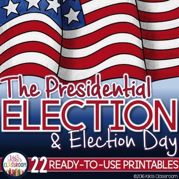 Elections - Voting: Presidential Election Reading Passages & PrintablesThis Elections resource includes 22 pages of printables to engage your students while learning about the presidential election process and Election Day.  Youll find these printables to be thoughtfully designed, easy to use, thorough, and engaging for kids!