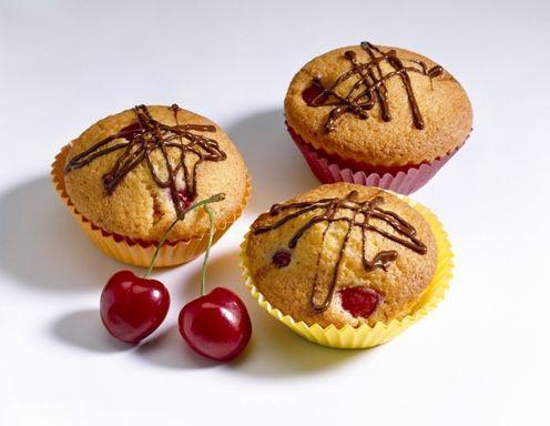 Weichsel Eierlikör Muffins Rezept