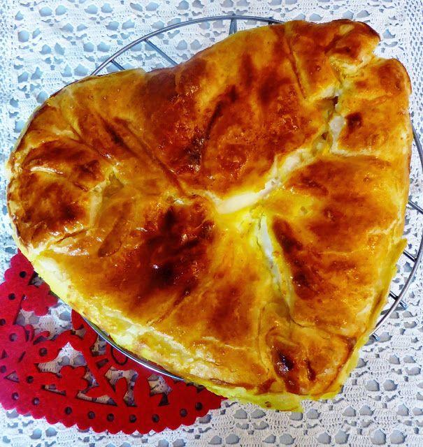 Frittomisto: cucina ed emozioni: Torta salata con ricotta, salmone e carciofi