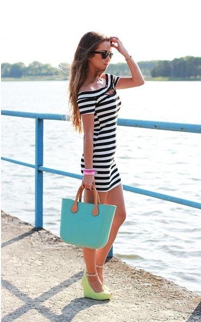 Dress: SHEINSIDE || Bag: OBAG || Wedges: CZASNABUTY