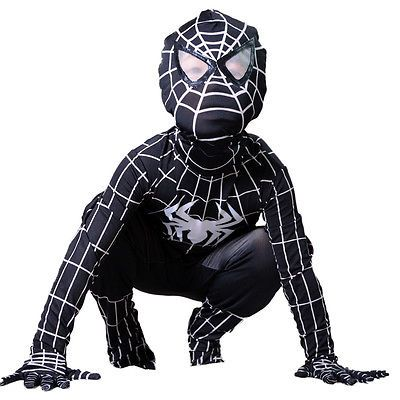 Boy venom black #spiderman costume kids halloween superhero #cosplay full #bodysu,  View more on the LINK: 	http://www.zeppy.io/product/gb/2/322165441295/