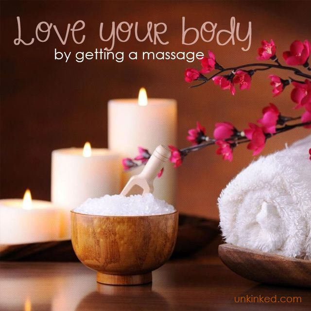 Love your Body by getting a massage  #Unkinked #MobileMassage #Therapy #Unwind #Relax #Calmyourmind #Rejuvinate