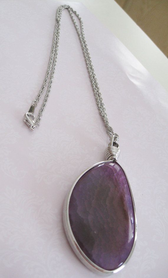 Christmas Jewelry Gift   Natural Gemstone Pendant by maylui, $18.00