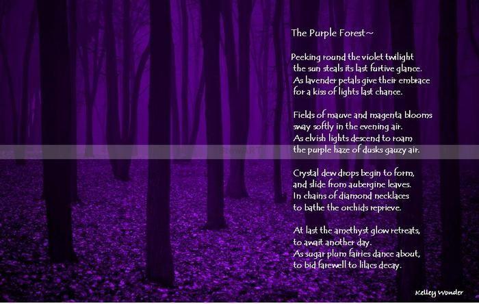 poema sobre el bosque