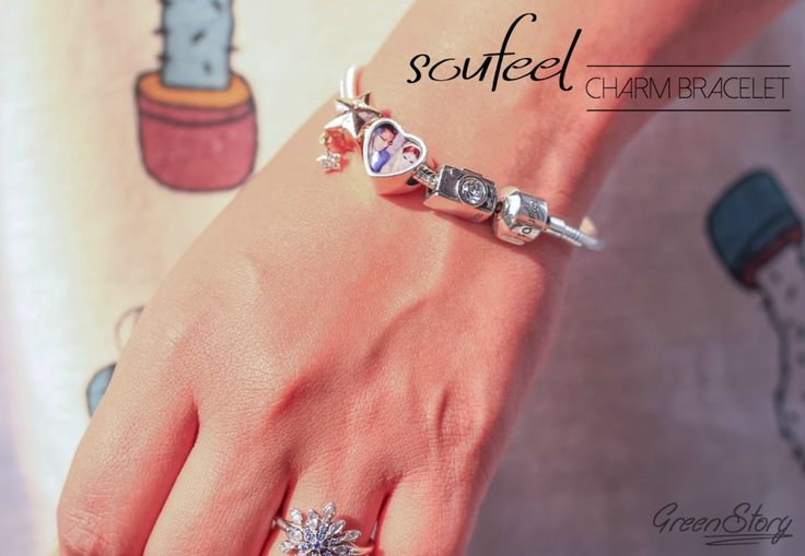 Soufeel Charm Bracelet   must have in your jewelry collection