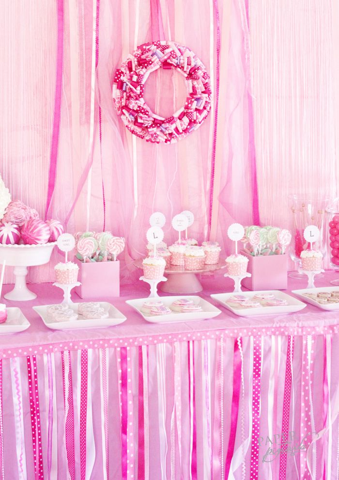 this is a cool idea for baby gurl babyshower