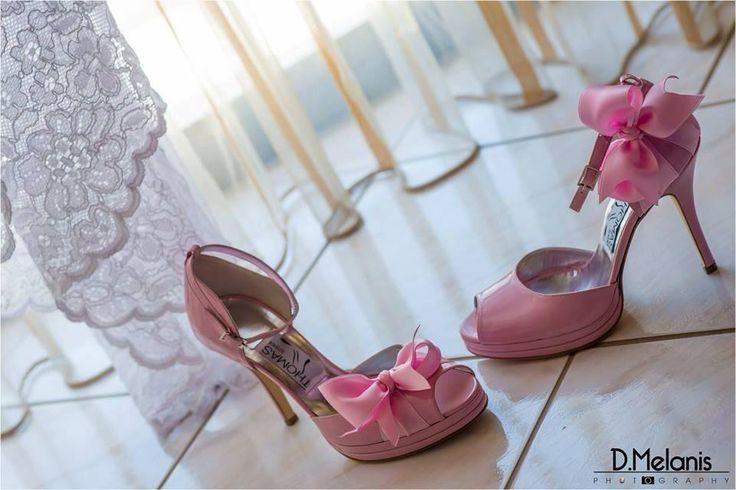 Ροζ-Νυφικά παπουτσια