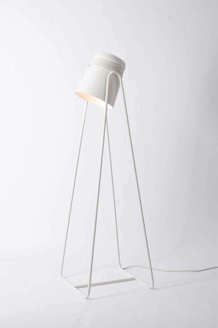Cable Light floorlamp White Patrick Hartog on CROWDYHOUSE