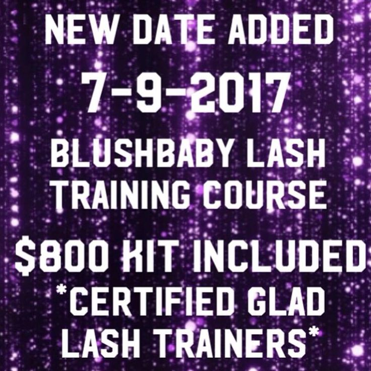 ��Do you want to be a professional Master Lash Stylist? ��������‍♂️Eyelash training courses conducted by @gladlash certified trainers @nycmakeupgurl and @blushboss are set for the following dates: ➡️ July 9th (added next class)  Future dates: ➡️September 17th ➡️October 22nd  For more booking information, please email classes@blushbabymakeupstudio.com or call our studio at 404-549-7086. Link in bio. ��#BlushbabyATL #makeupstudio #makeup #mua #beauty #beautiful #cosmetics #beatface #lash…