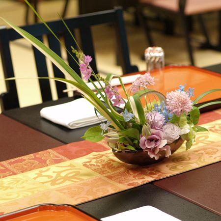 結婚式の会場装花 | 花工房オレンジ