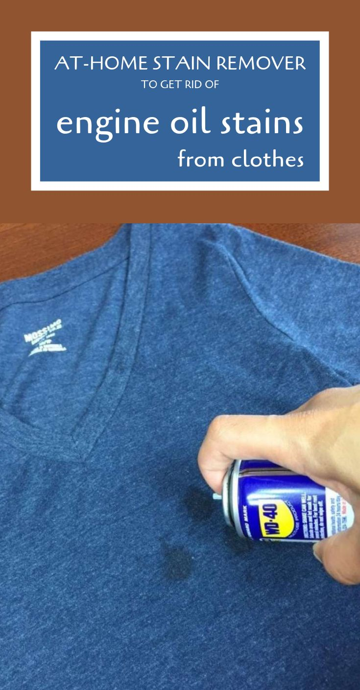 AtHome Stain Remover To Get Rid Of Engine Oil Stains From