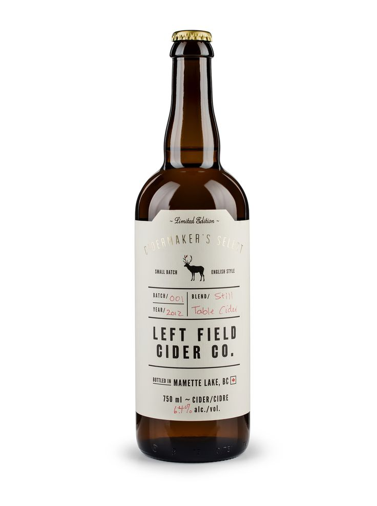 Left Field Cider Co. / Also Known As Studio + Design