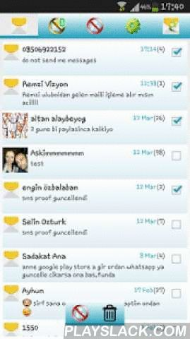 SMS Proof - Sms Blocker  Android App - playslack.com , SMS Proof Features;* SMS message blocking* Incoming call blocking* You can send unwanted SMS messages to spam folder or you can block them entirely.* You can send unknown contact's SMS messages to spam folder.* You can block incoming calls that unknown numbers (not registered in your contact list).* You can block unwanted messages just one touch, quickly and smoothly.* Personalisation options for designs, notifications, sounds and…