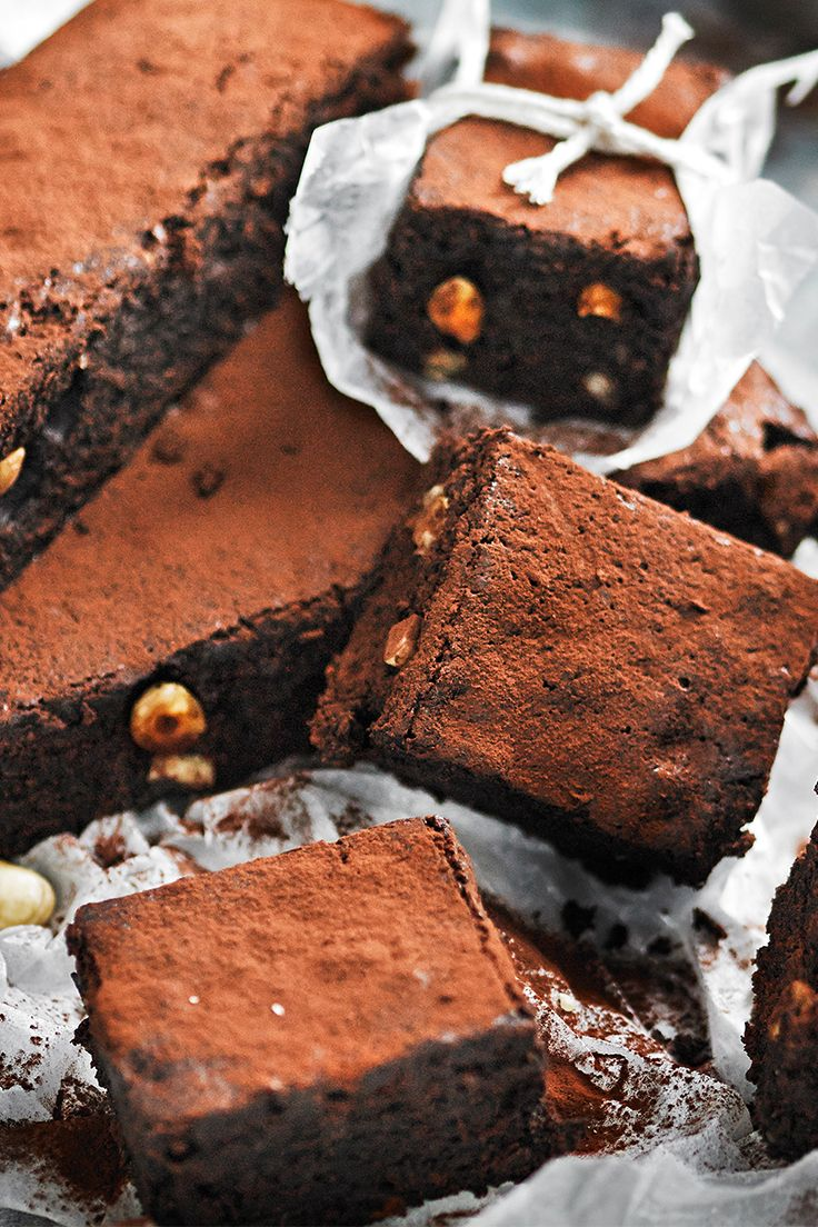 These rich, dense chocolate brownies rely on dates and rice malt syrup for their guilt-free sweetness.