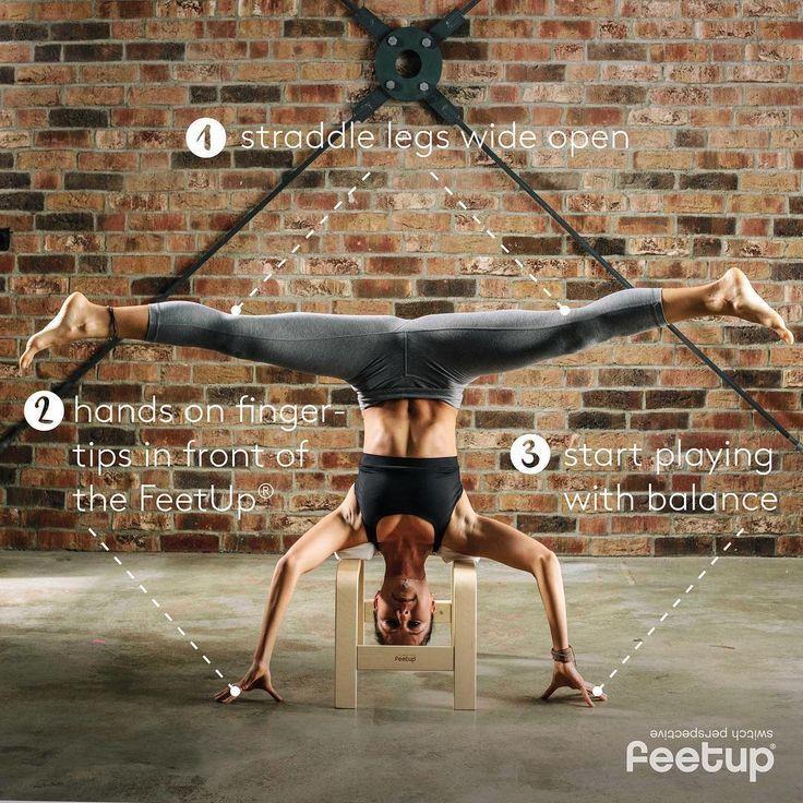 Feet Up Yoga Stool Exercises