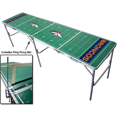 Wild SportsDenver Broncos Tailgate Table with Net