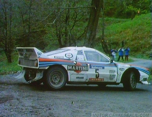 Markku Alén - Ilkka Kivimäki - 28º Tour de Corse 1984. Lancia Rally 037 Evo. Clasificado 1º.