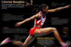 Caterine Ibargüen conquista la Liga de Diamante tras el título mundial